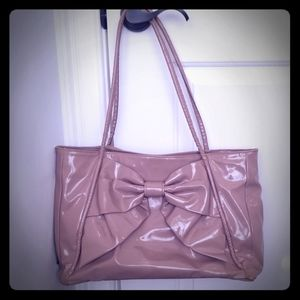 Valentino Betty Lacca Bow Purse Pre Owned
